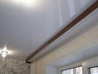 Гардина и натяжные потолки